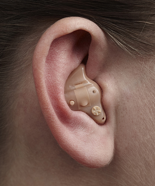 In The Ear (ITE) Full Shell