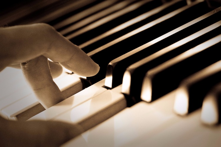 "You can't hear the piano sound? It's ""likely"" you have severe hearing loss"