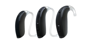 Resound LiNX Quattro Behind The Ear (BTE) hearing aids line-up