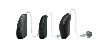 Resound LiNX Quattro Receiver In The Ear (RIE) hearing aids line-up